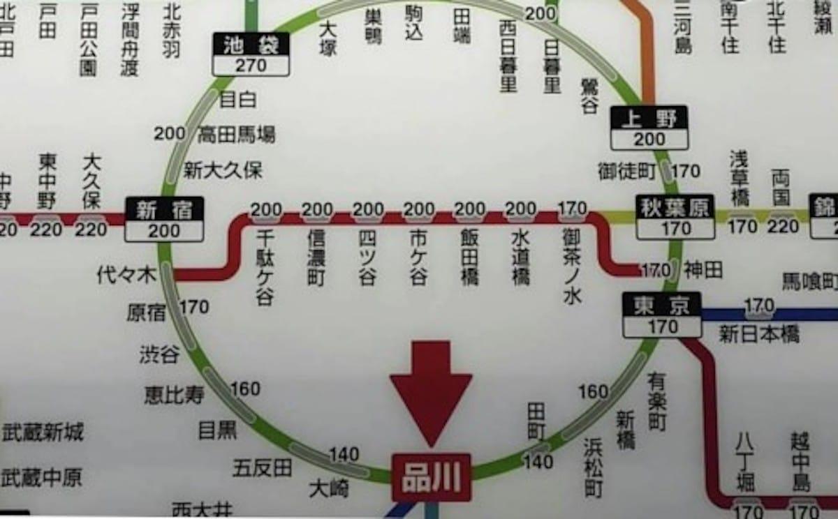 JR東日本の運賃表には100kmラインがある!という話:ろんぶ〜ん【2020/01/27】