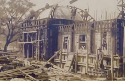 地下の建設