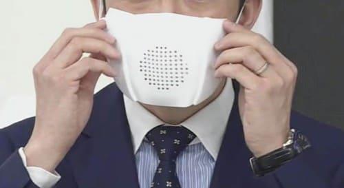 スマートマスクを付ける