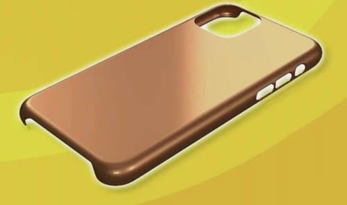 銅のスマホケース