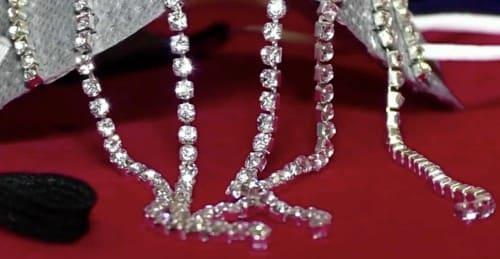 ダイヤモンドの装飾