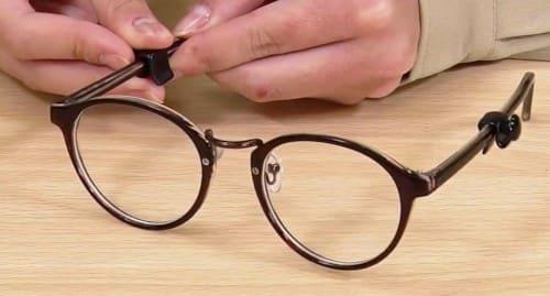 眼鏡の「つる」