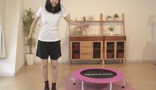 膝を使わなくても跳べる?