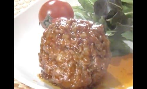 マグカップハンバーグ