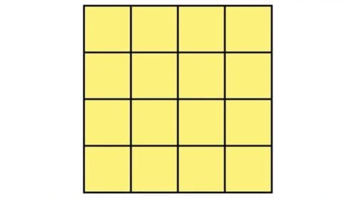 正方形4x4