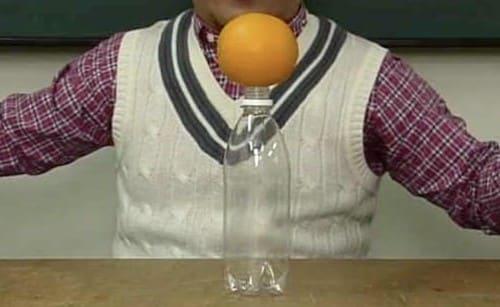 落ちないオレンジ
