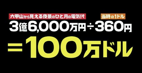100万ドル