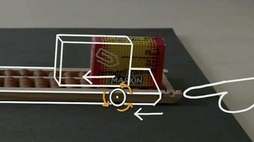 箱が動く原理