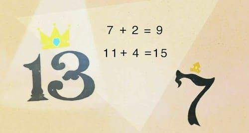 奇数と偶数を足す
