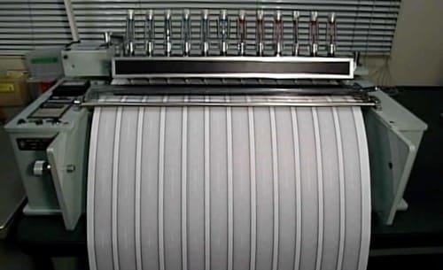 ボールペンのテスト機械