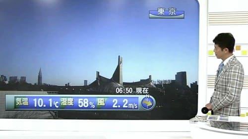 天気予報の平井さん