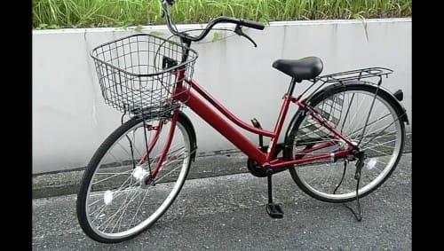 エアハブ自転車