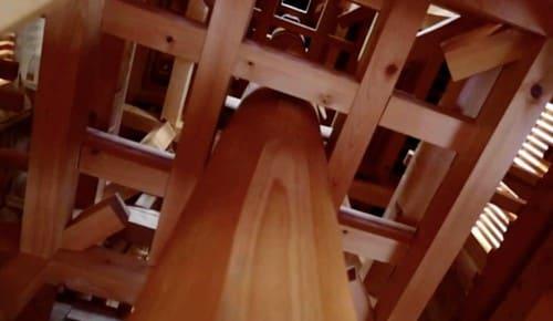 五重塔のレプリカ