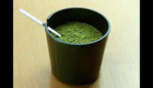 粉末の緑茶