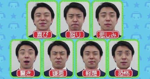 7つの表情
